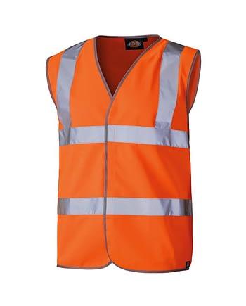 Warnschutzweste Dickies Hi Vis orange Herren