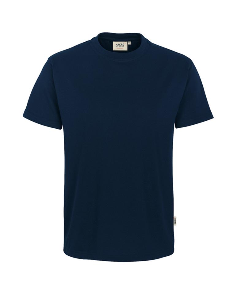 Arbeitskleidung T-Shirt Hakro Performance tinte für Herren Frontansicht