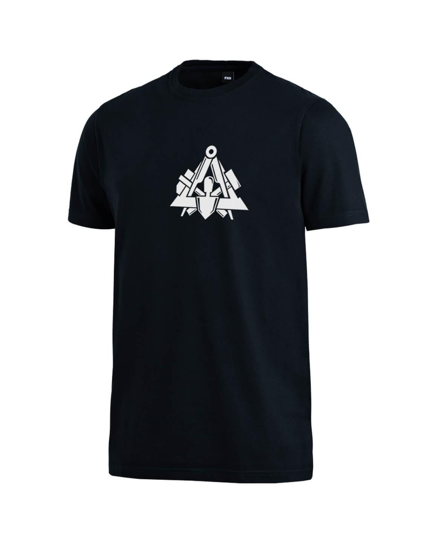 Dachdecker Tshirt FHB Till 90420 schwarz