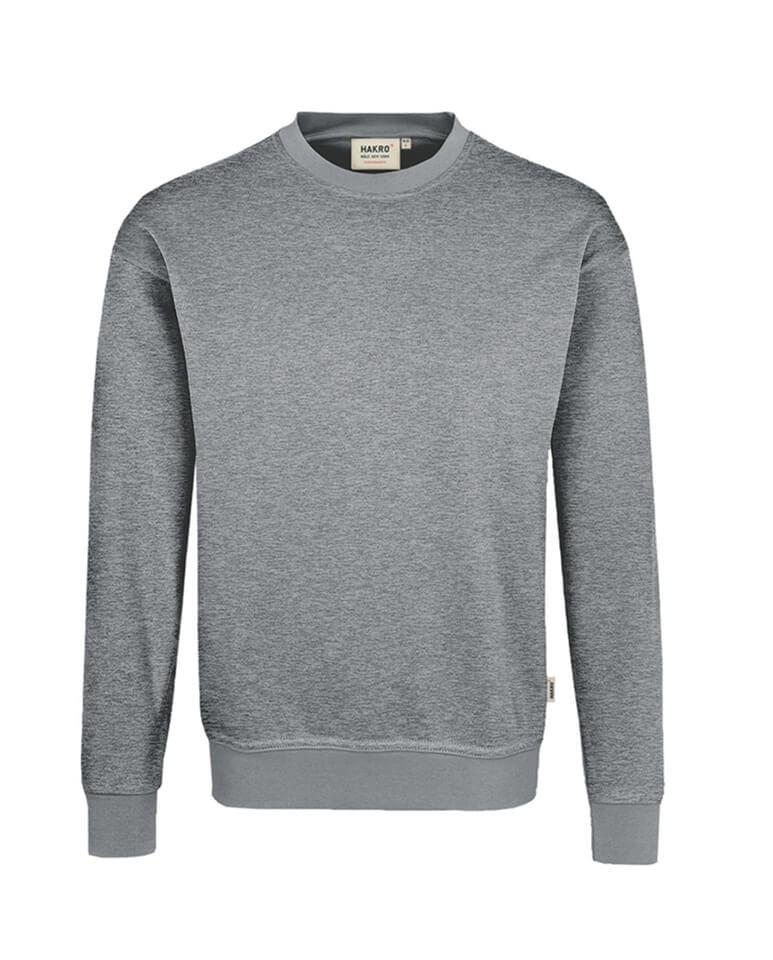 Sweatshirt Hakro Performance grau meliert Herren
