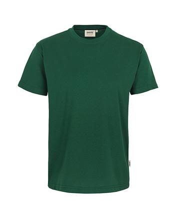 Arbeitskleidung T-Shirt Hakro Performance tanne für Herren Frontansicht