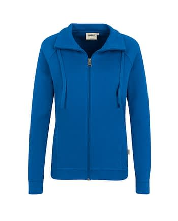 Sweatjacke Hakro College royalblau Damen
