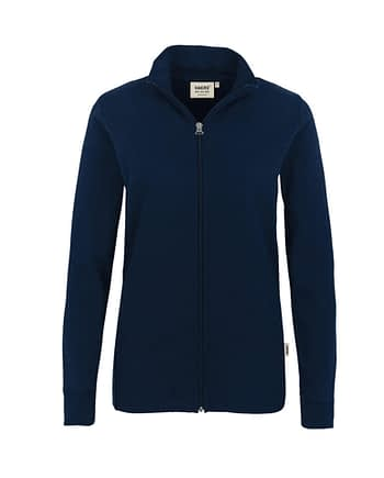 Sweatjacke Hakro Interlockjacke tinte Damen
