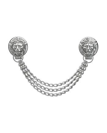 Löwenkopfkette FHB Samuel 88900 silber