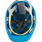 Schutzhelm blau Innenansicht